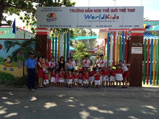 trường mầm non tại tp.hcm